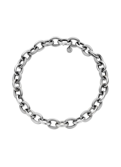 Diamond Point Sterling zilver collier (M)