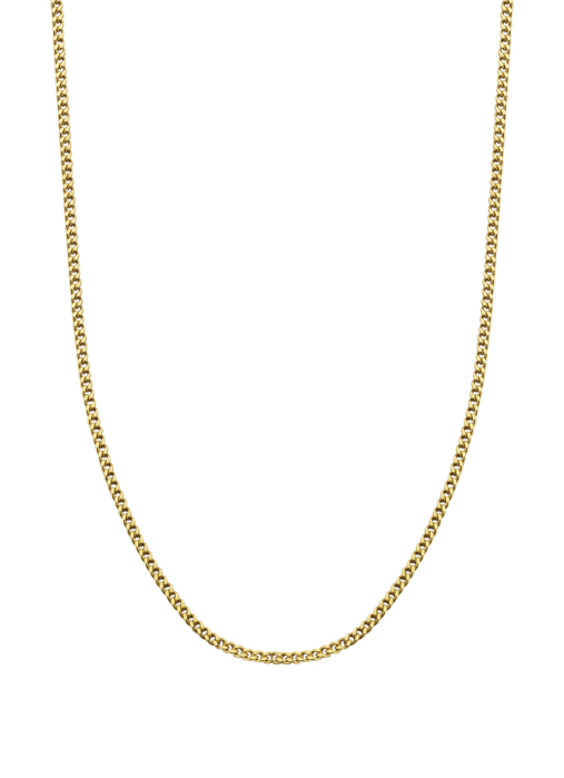 Diamond Point Timeless treasures geelgouden collier (45cm)