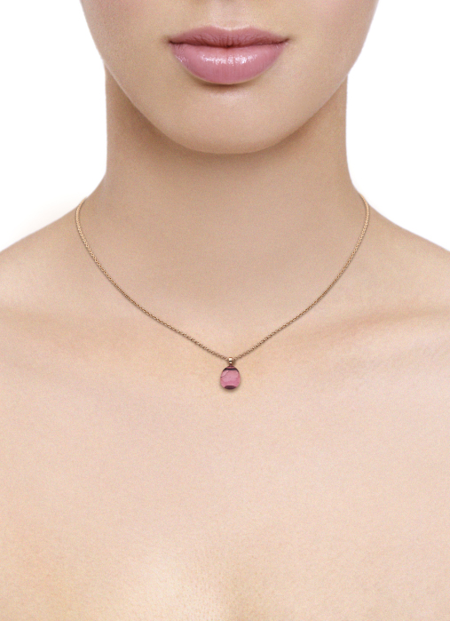 Diamond Point Little Drops Anhänger in 14K Roségold