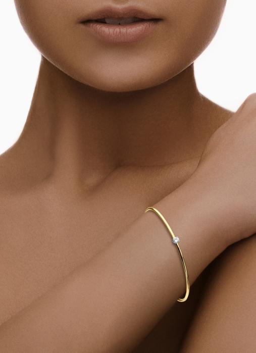 Diamond Point Jolie gouden armband (M)