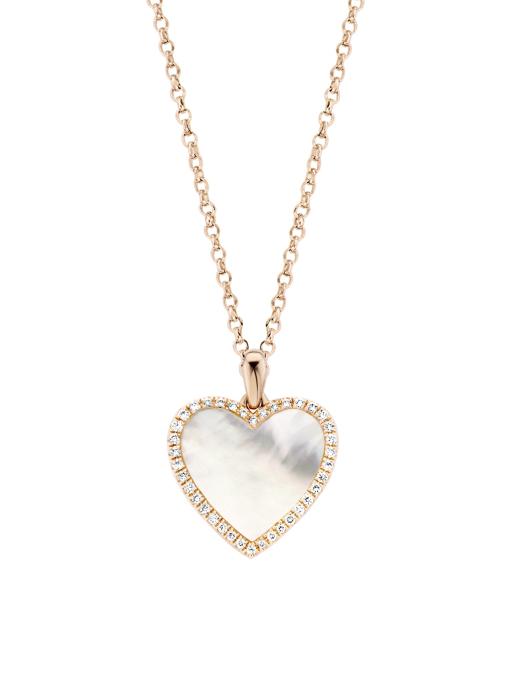 Diamond Point Melody pendant in 14 karat rose gold
