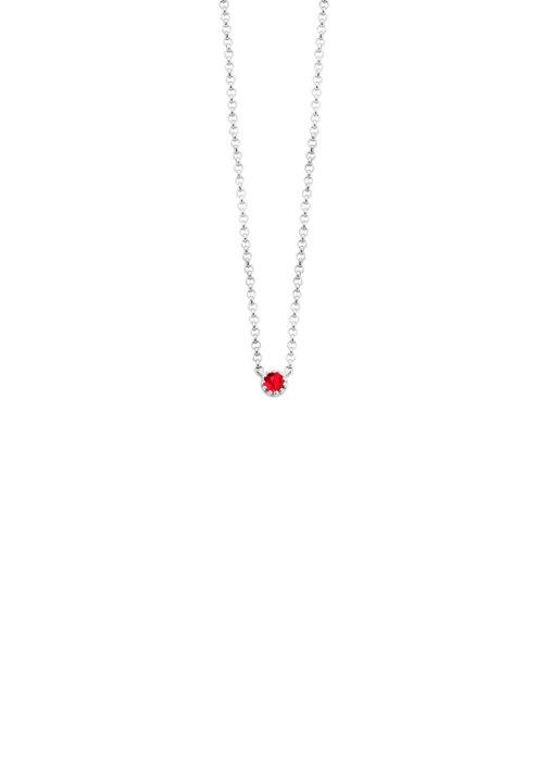 Diamond Point Joy necklace in 14 karat white gold