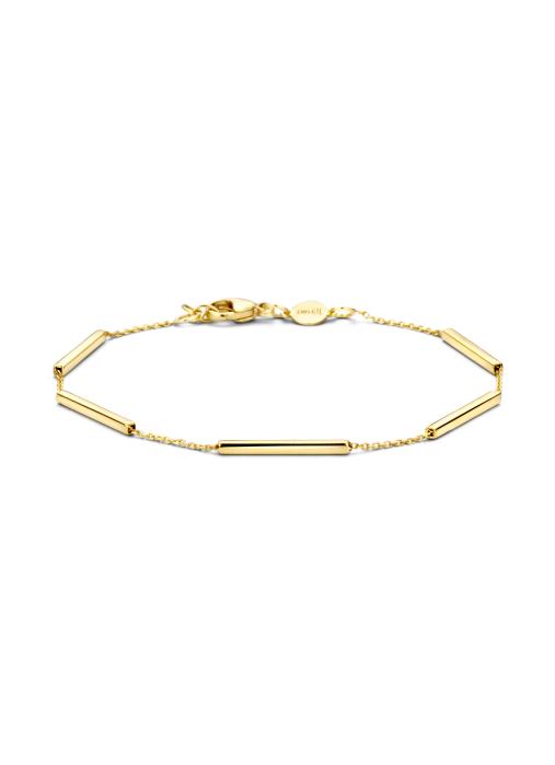 Diamond Point Armband in 14K Gelbgold