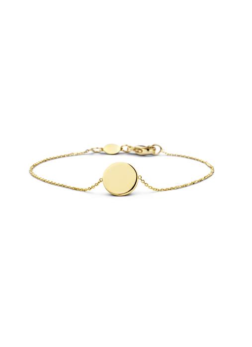 Diamond Point Marigold bracelet in 14 karat yellow gold