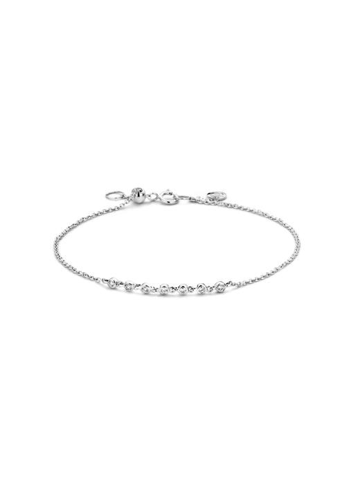 Diamond Point Joy bracelet in 14 karat white gold