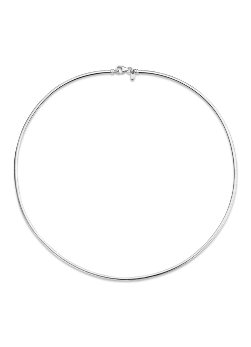 Diamond Point Timeless treasures necklace in 14 karat white gold
