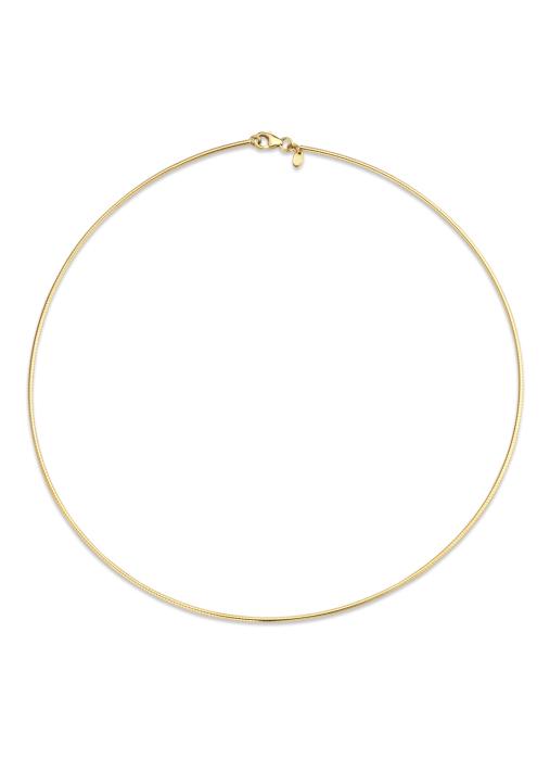 Diamond Point Timeless treasures necklace in 14 karat yellow gold