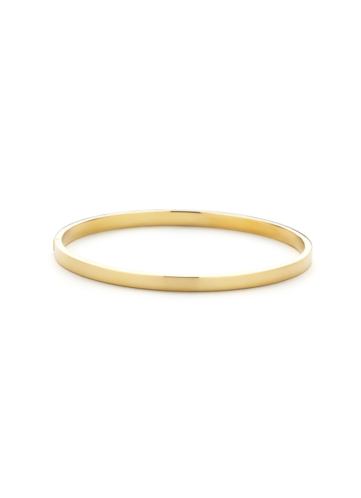 Diamond Point Timeless treasures bracelet in 14 karat yellow gold (silver filled)
