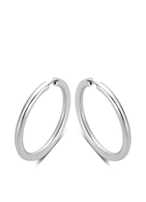 Diamond Point Timeless treasures earrings in 14 karat white gold
