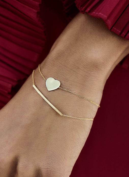 Diamond Point Witgouden armband Marigold