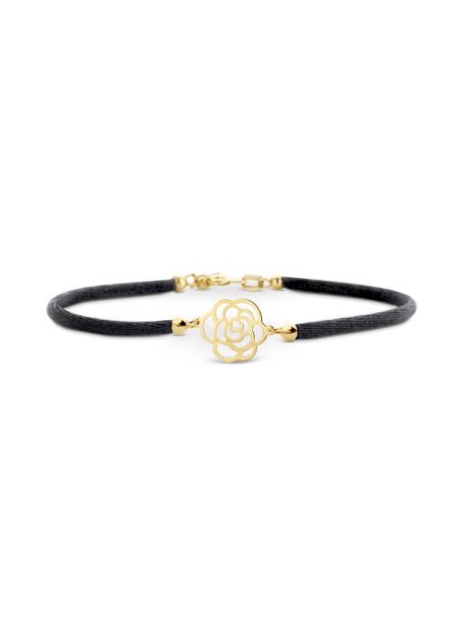Diamond Point Symbols bracelet in 14 karat yellow gold