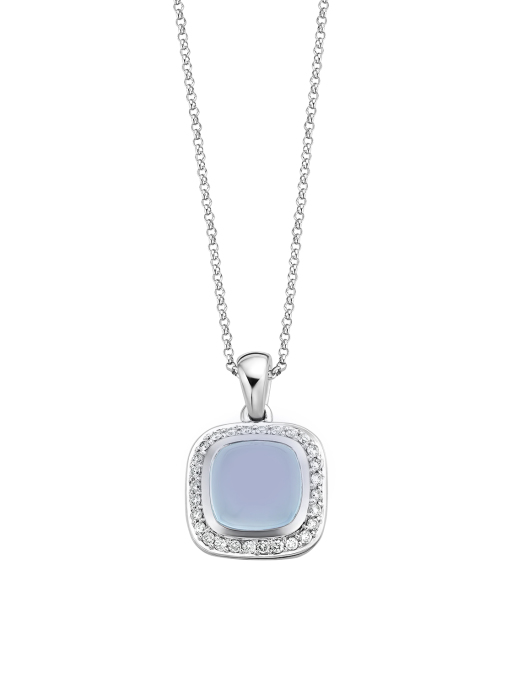 Diamond Point Rhapsody pendant in 14 karat white gold