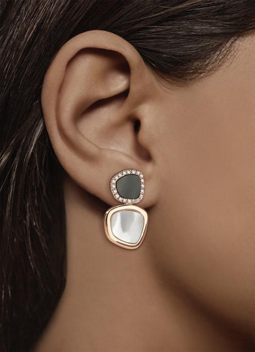 Diamond Point Roségouden oorsieraden 0.25 ct diamant Melody