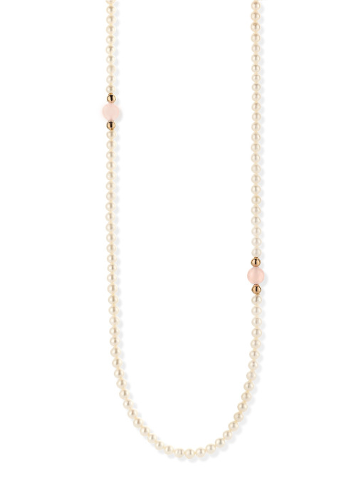 Diamond Point Rivièra necklace in 18 karat rose gold
