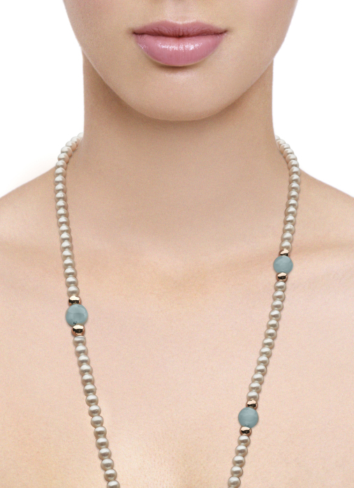 Diamond Point Rivièra necklace in 18 karat rose gold