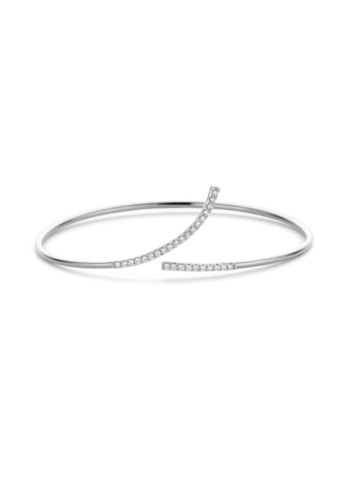 Diamond Point Witgouden armband, 0.29 ct diamant, La Dolce Vita