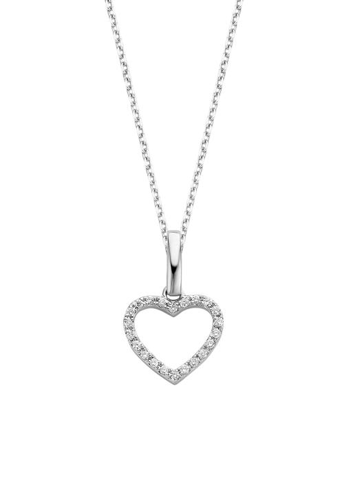 Diamond Point Dreamer pendant in 14 karat white gold