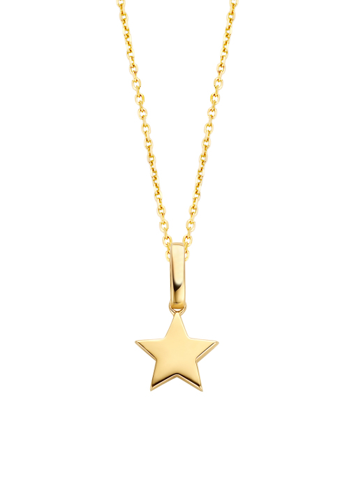 Diamond Point Dreamer pendant in 14 karat yellow gold