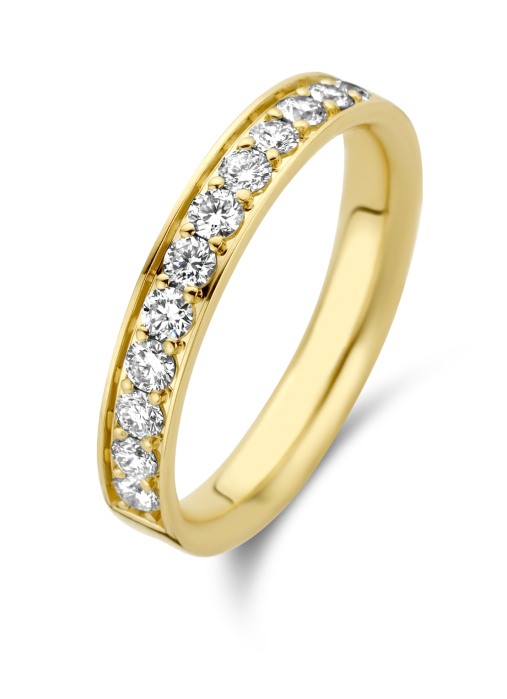 Diamond Point Geelgouden ring 0.50 ct diamant Wedding