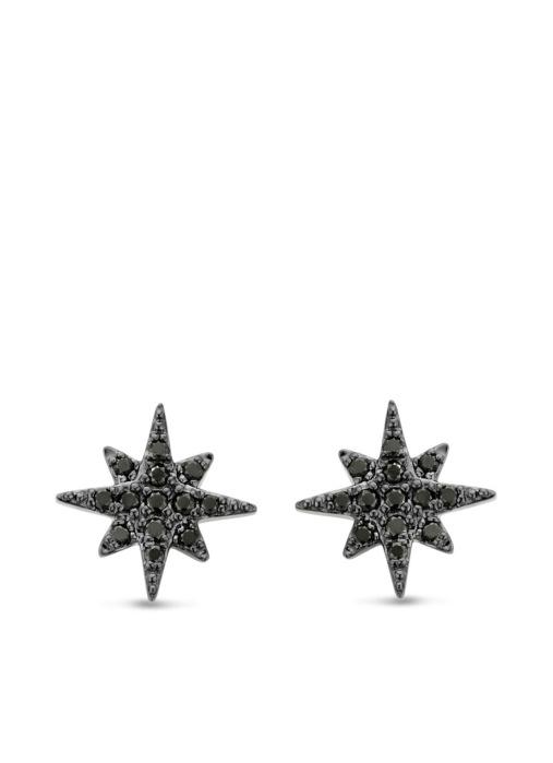 Diamond Point Cosmic earrings in 14 karat yellow gold