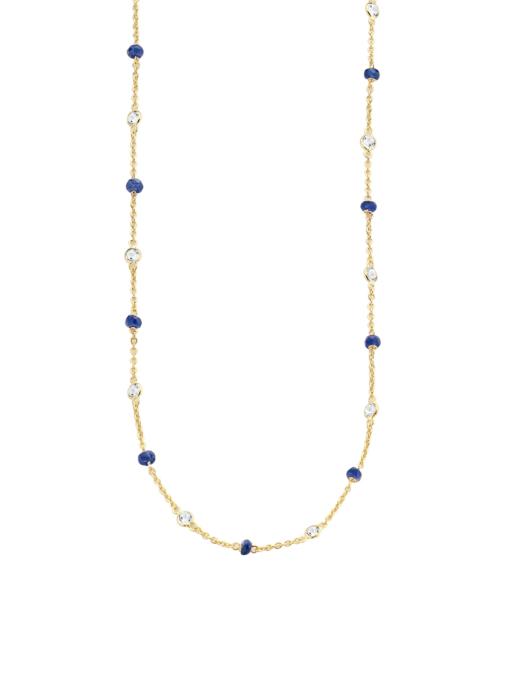 Diamond Point Jolie necklace in 18 karat yellow gold