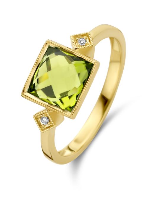 Diamond Point Philosophy ring in 14 karat yellow gold