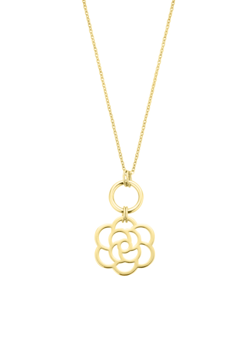 Diamond Point Geelgouden collier Marigold