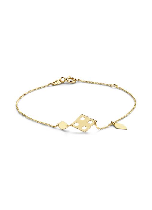Diamond Point Geelgouden armband Marigold