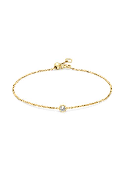 Diamond Point Geelgouden armband, 0.08 ct diamant, Joy
