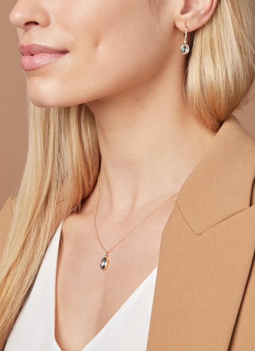 Diamond Point Philosophy earrings in 14 karat yellow gold