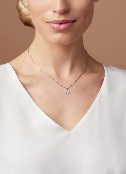 Diamond Point Witgouden hanger 0.09 ct diamant Symbols