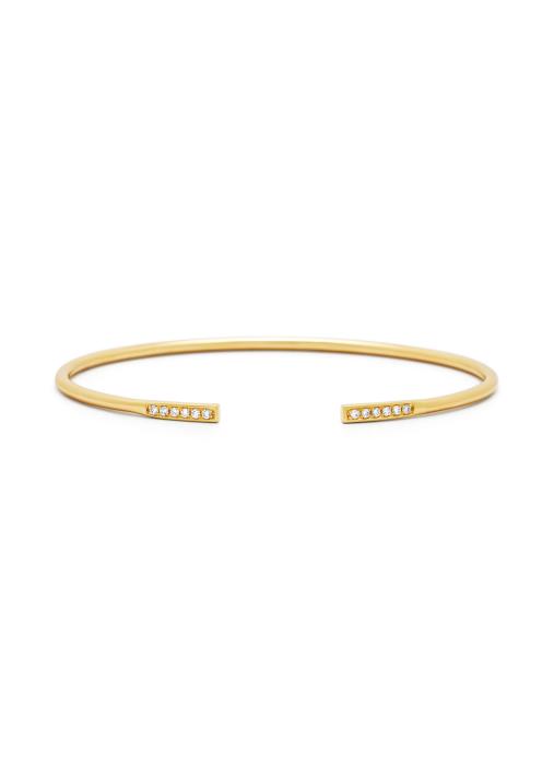 Diamond Point La dolce vita bracelet in 14 karat yellow gold