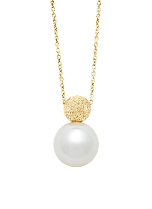 Diamond Point Rivièra pendant in 18 karat white gold