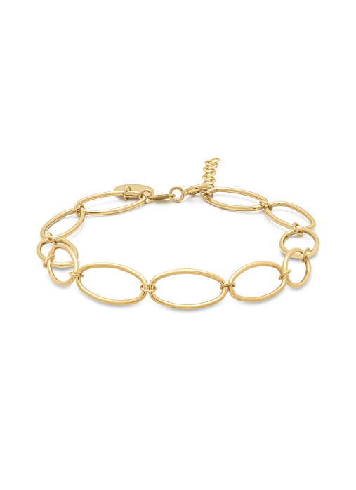 Diamond Point Geelgouden armband Marigold