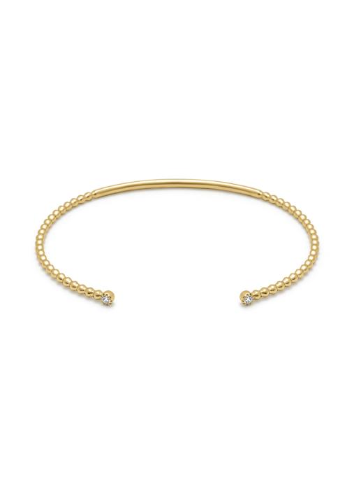 Diamond Point Geelgouden armband, 0.10 ct diamant, Joy
