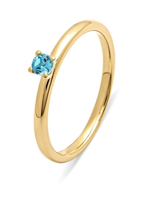 Diamond Point Four seasons ring in 14 karat yellow gold