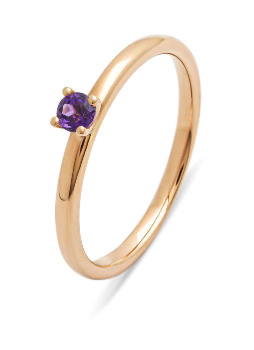 Diamond Point Four seasons ring in 14 karat rose gold