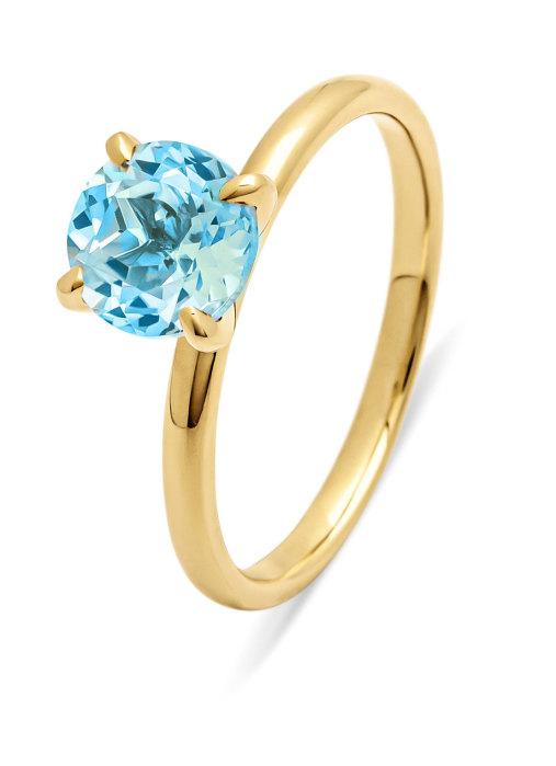 Diamond Point Four seasons ring in 18 karat yellow gold