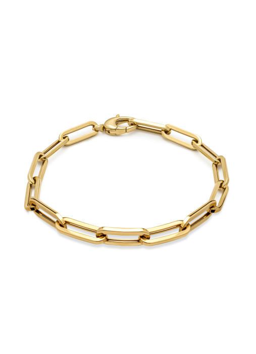 Diamond Point Geelgouden armband Closed Forever