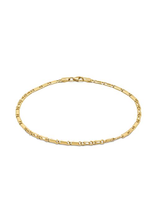 Diamond Point Geelgouden armband Timeless Treasures