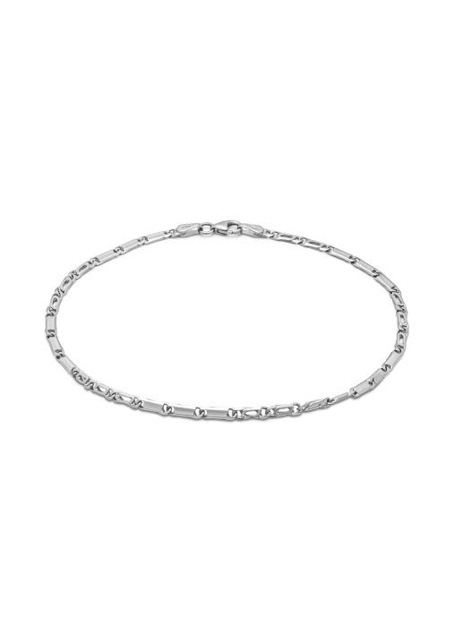 Diamond Point Timeless treasures bracelet in 14 karat white gold