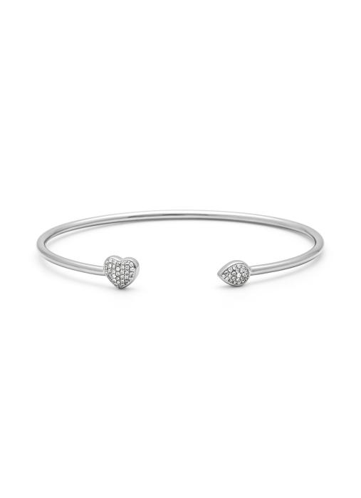 Diamond Point Witgouden armband, 0.17 ct diamant, La Dolce Vita