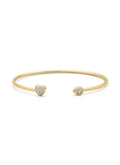Diamond Point Geelgouden armband, 0.17 ct diamant, La Dolce Vita