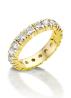Diamond Point Geelgouden alliance ring, 0.39 ct diamant, Groeibriljant
