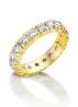 Diamond Point Groeibriljant Memoire Ring in 18K Gelbgold, 0.54 ct.