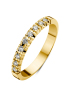 Diamond Point Groeibriljant eternity ring in 18 karat yellow gold, 0.18 ct.
