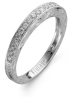 Diamond Point Witgouden ring, 0.21 ct diamant, Since 1904