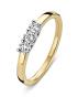 Diamond Point Gouden ring 0.25 ct diamant Alliance