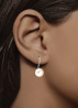 Diamond Point Pearl Ohrringe