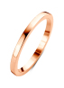 Diamond Point Ensemble Ring in 14K Roségold